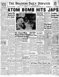 Atomic bombings of Hiroshima and Nagasaki