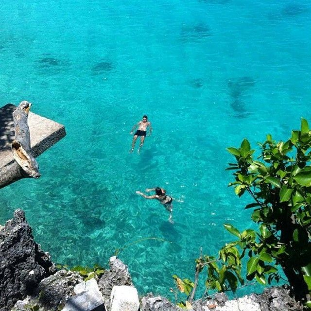 Cliff jumping in Siquijor, Phillippines. #MeetTheWorld (photo cred: Larissa Vanderkruk)