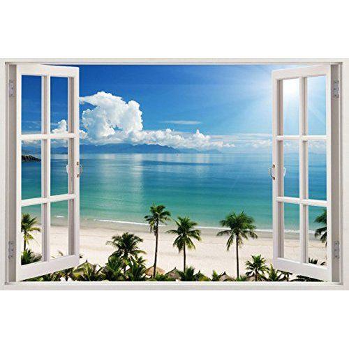 die besten 25 fototapete strand ideen auf pinterest strand wandmalereien 3d naturtapete und. Black Bedroom Furniture Sets. Home Design Ideas