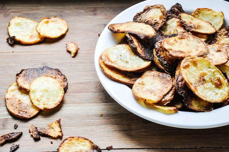 Gebackene Kartoffelchips I Tiny Spoon