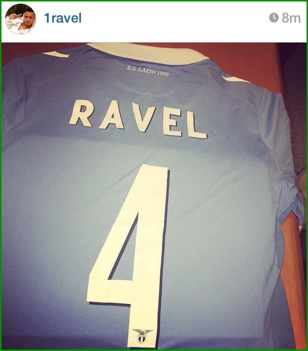 Ravel Morrison's jersey. He's coming...