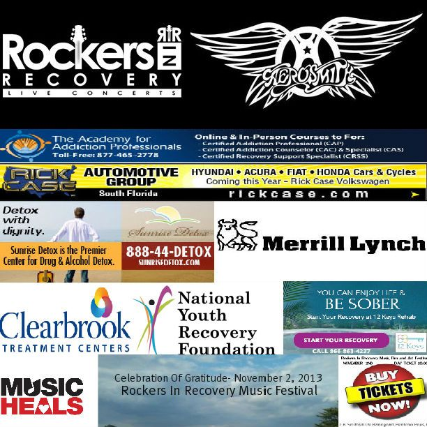 Gates Open At 12PM Nov 2nd RIR Band - Aerosmith's Richie Supa , Ricky Byrd (Joan Jett),Kasim Sulton(Todd Rundgren),Muddy Shews(Southside Johnny, Mark Stein(Vanilla Fudge), Liberty Devitto(Billy Joel) ,Christine Ohlman(SNL Band) - Special Guest Recovery Supporters: Marge Raymond (ELO), David Shelley (Gov't Mule), Lou Esposito (The Capris), more to be announced. CLICK HERE - http://www.brownpapertickets.com/event/396857