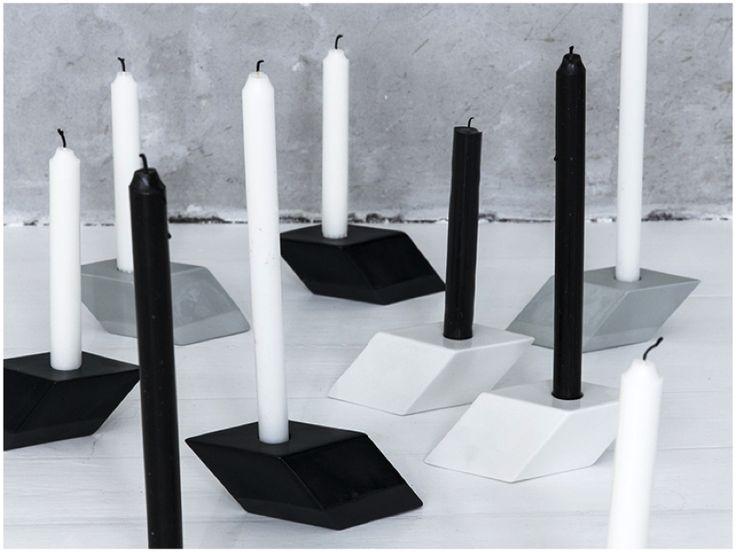 The Italic Candlestick by Kristina Dam - via HOMESICK.nu
