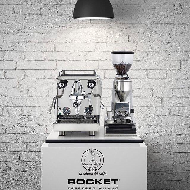 Turkish Rocket Partners @espressoperfettotr And The Giotto Evoluzione.