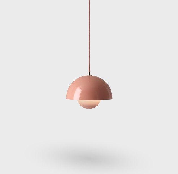 FLOWERPOT VP1 Pendel lampe, Ø23cm - Beige Red - &TRADITION