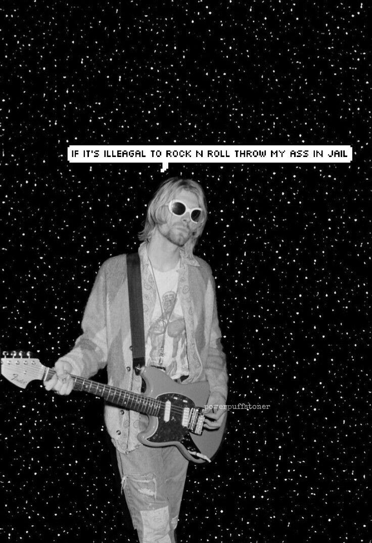 Kurt Cobain aesthetic pictures!! By @powerpuffstoner ...