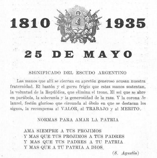Heráldica en la Argentina: Escudo Nacional y escudo de la provincia de Buenos Aires