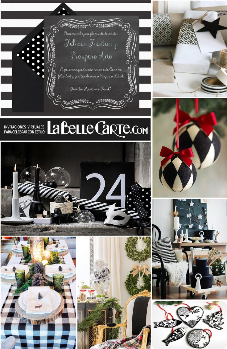 49 best fiesta blanco y negro black and white party - Decoracion blanco y negro ...