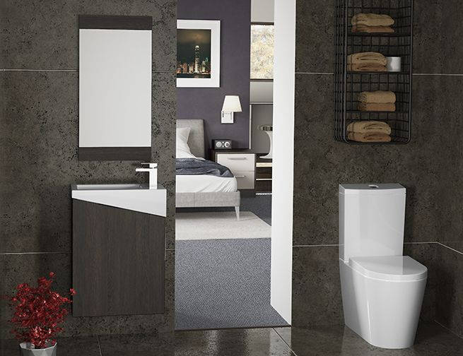 Give The Feeling of More Space With Wall Hung Bathroom Furniture - In a small bathroom, a great tip for making the room look bigger is using units that are attached to the wall, and down reach full length down to the floor. Wall hung bathroom furniture is a perfect solution to a room that looks small and poky. We have several options for wall hung bathroom furniture in our brochure, in different styles to suit all tastes and needs...