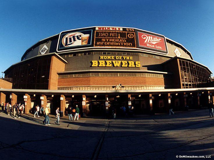 1994-Old Milwaukee County Stadium | Summer Baseball Trip ...