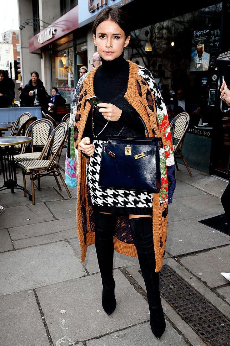Front row semanas de la moda Londres otono invierno 2014