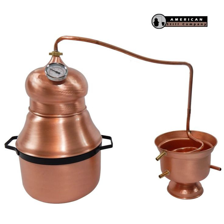 4 Gallon Traditional Onion Head Copper Pot Still