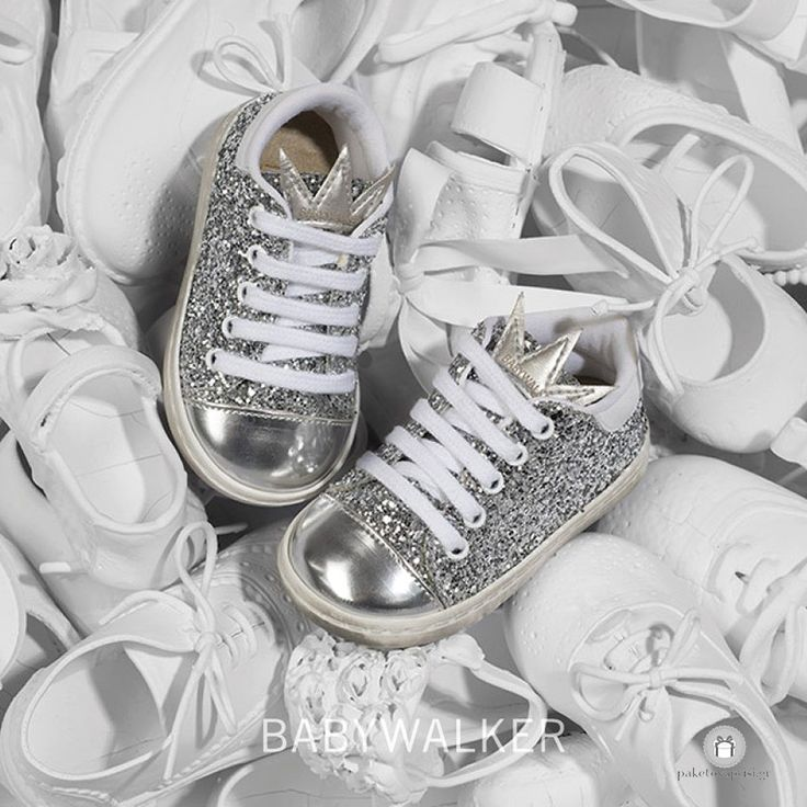 Sneakers από Glitter για Κορίτσια Babywalker EXC5582