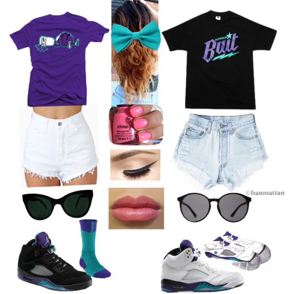 Hipster Girl Outfits Polyvore Outfits with jordans  ...