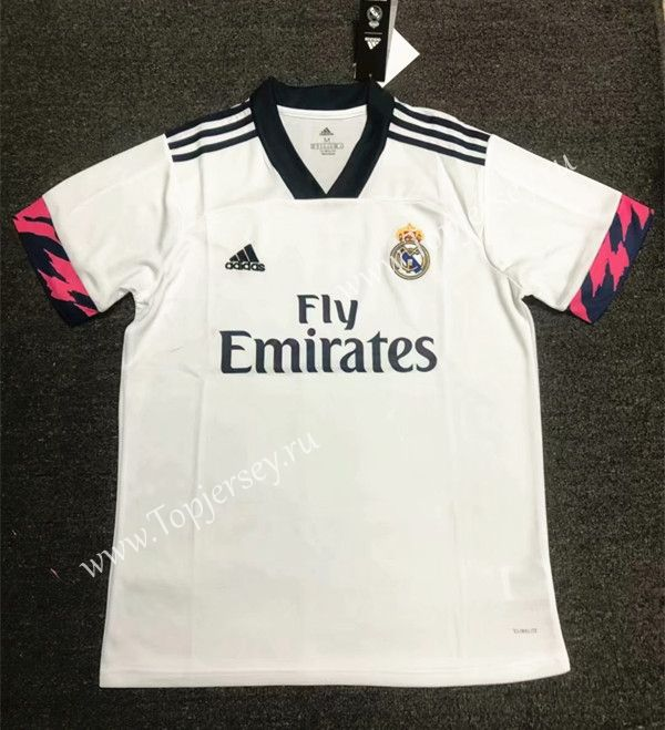 2020 2021 Real Madrid Home White Thailand Soccer Jersey Aaa 407 Soccer Jersey Real Madrid Shirts