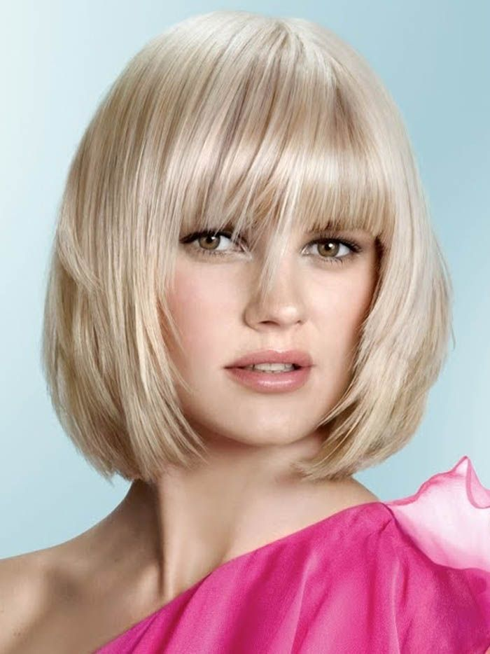 Being The Simplest One By Using Medium Length Bob Hairstyles : Medium Length Bob Hairstyles With Bangs