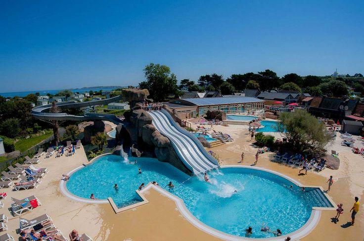 Le Ranolien - Camping de Bretagne 4 étoiles avec piscine couverte et chauffée.