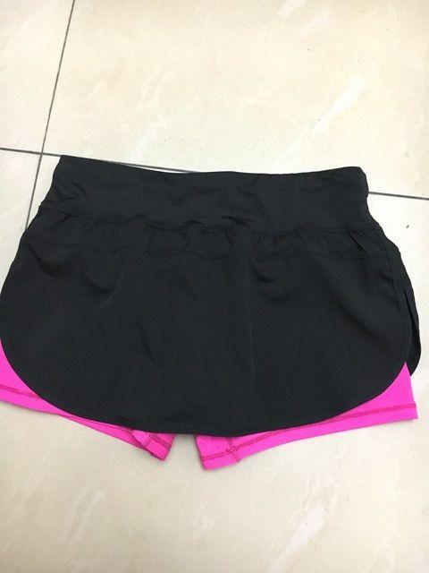 2017 new Tennis Skorts Fitness Short Skirt Badminton breathable Quick drying Womens Sport Girls Ping pong table Tennis Skirts