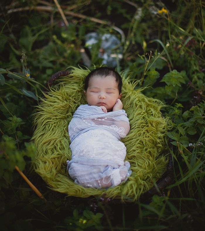 """This is such a """"Willow"""" photo - anyone whos seen the film will know what I mean! Beautiful photo of baby Sophia from New Life Imagery"""