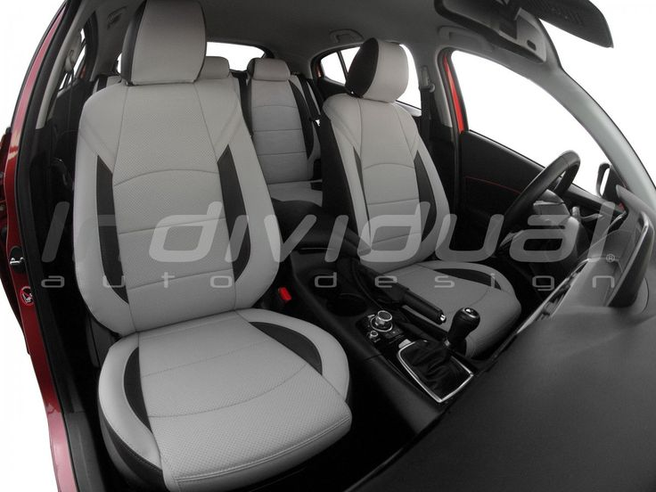 MAZDA 3 collection: INDIVIDUAL   material1: LEATHER LOOK PERFO sterling  material2: LEATHER LOOK antracit  material3: LEATHER LOOK sterling