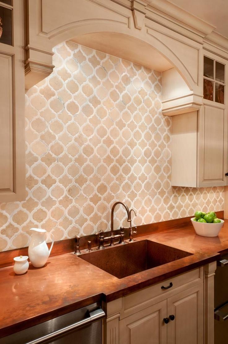 Kips Bay Kitchen: Toledo Classique in Crema Marfil and Calacatta ...