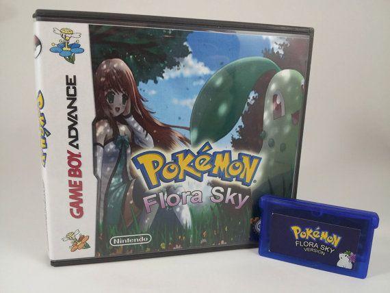 Pokemon Flora Sky for Game Boy Advance! GBA