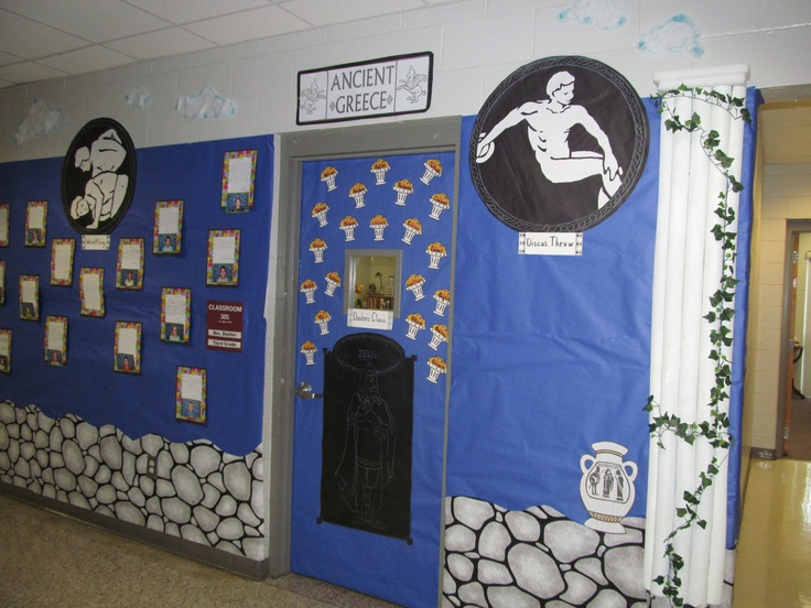 17 best images about lpe school 39 s 2012 classroom themes for Ancient greek decoration ideas