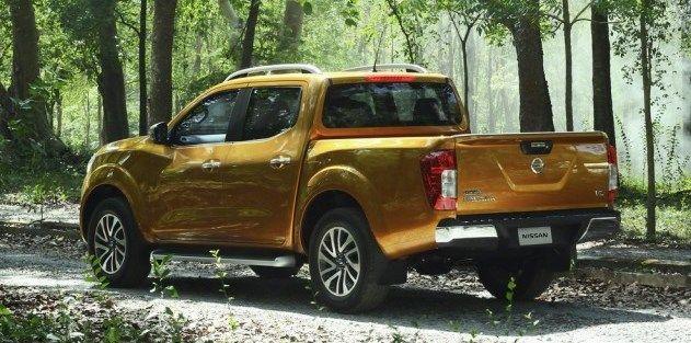 Rear view of #Nissan #Navara #PickupTruck 2015 New Model Nissan Navara Bangkok, Thailand available for export at Jim Autos Thailand http://toyota-dealer.org/2015-nissan-navara-np300.html