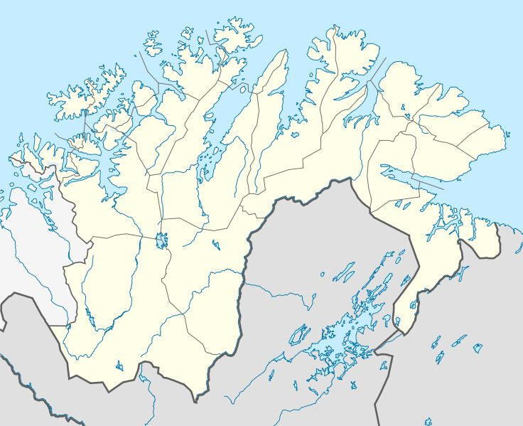 this is a map of northern Norway and it gives you and idea of were the Tirpitz was currently docked so the British knew were it was.