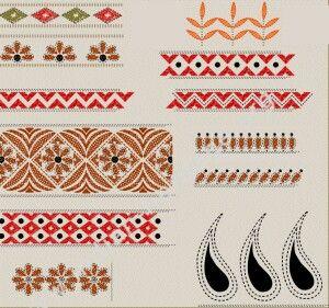Under kantha on http://www.indian-heritage.org/artcraft/designs/