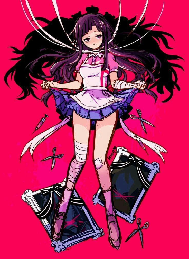 Super danganronpa 2 Mikan | danganronpa | Anime art