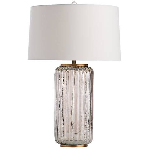 If youre a fan of modern texture this gold ceramic table lamp has