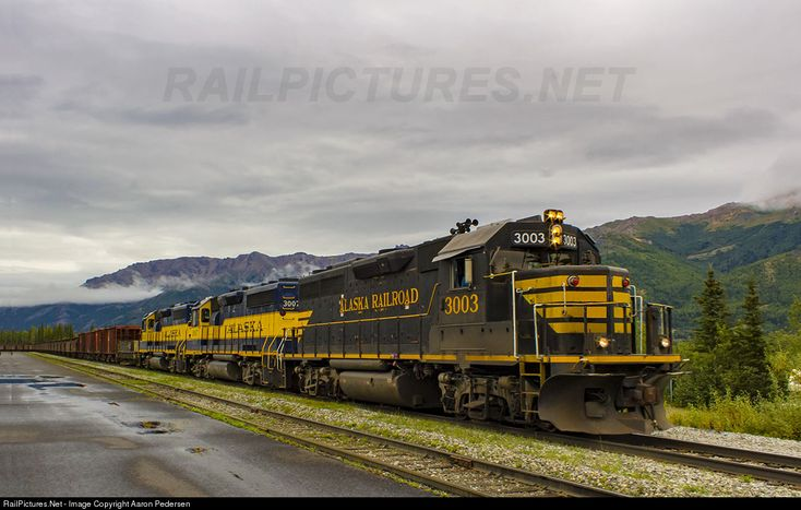 RailPictures.Net Photo: ARR 3003 Alaska Railroad EMD GP40-2 at Denali Park, Alaska by Aaron Pedersen