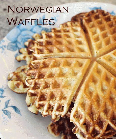 Norwegian-Waffles