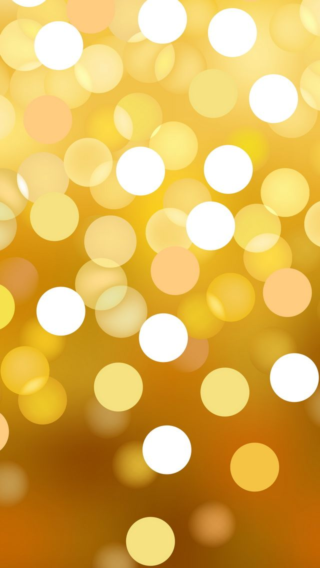 golden circles - iPhone wallpapers dreamy lights @mobile9