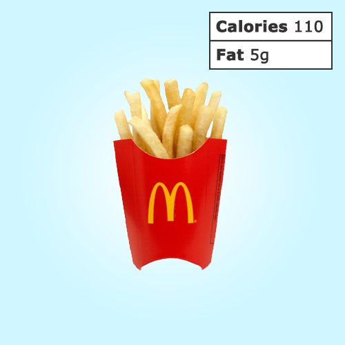 Low-calorie options at your favorite fast-food restaurants (Wendy's, Burger King & McDonald's)!