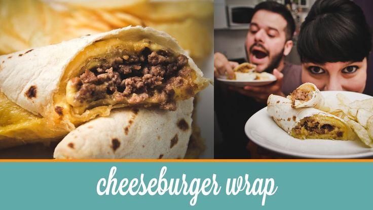 Cheeseburger Wrap  | Cozinha para 2