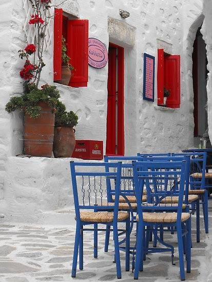 """Kallisto"" pastry shop in Amorgos"