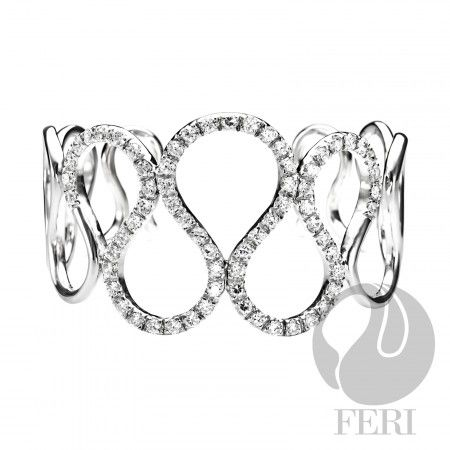 The Diva - Bracelet    - 0.5 micron natural rhodium plating  - Set with AAA white cubic zirconia https://www.globalwealthtrade.com/vdm/display_item.php?referral=stephjames&category=66&item=5503&cntylng=&page=2