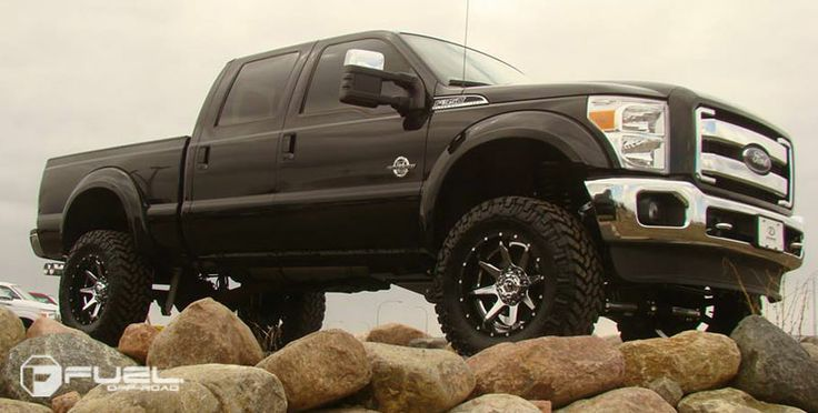 2014 Ford F350 » BRAND: FUEL TWO PIECE WHEEL: D237 ...