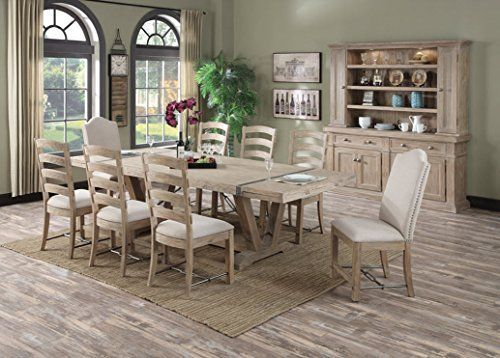 Like The Metal Strip In Table Chairs Too Traditional Found It At Wayfair