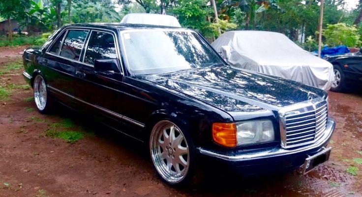 "1991 Black W126 ""EAGLE"" 300SEL Benz"