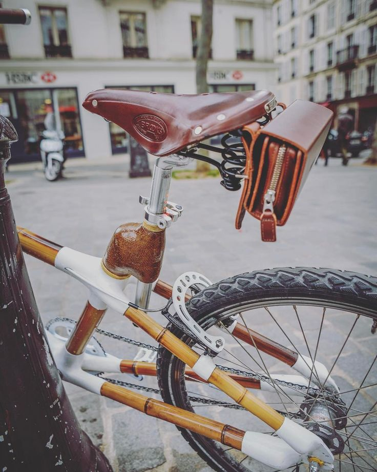 "91 Likes, 1 Comments - Bamboobike (@bamboobike_paris) on Instagram: ""It's more than bike it's art - 🚲 Ready for news collabs in LA 🇺🇸 www.bamboobike-paris.com  #artist…"""