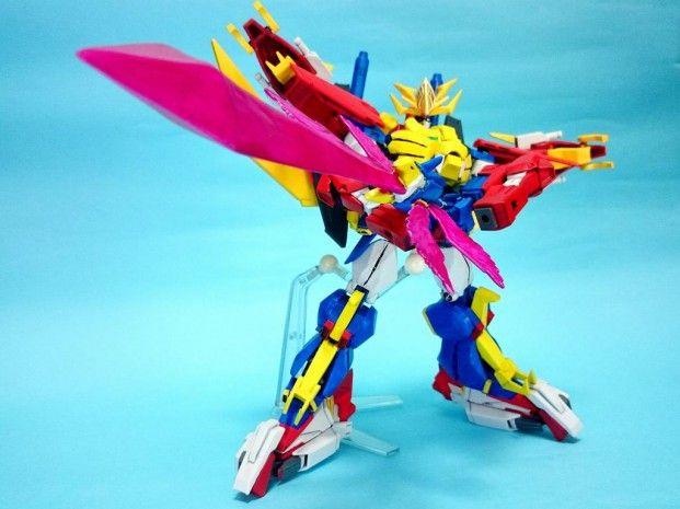 "Custom Build: HGBF 1/144 ""Transformation God"" Gundam Tryon 3 - Gundam Kits Collection News and Reviews"
