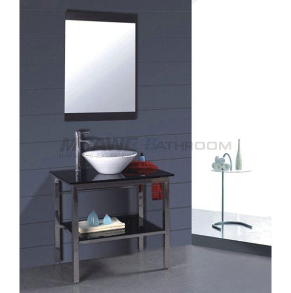 17 best images about glass sink vanity on pinterest - Reasonably priced bathroom vanities ...