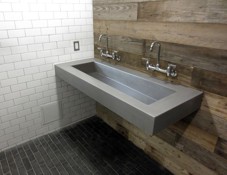 43 Best Images About Custom Concrete Bathroom Sinks