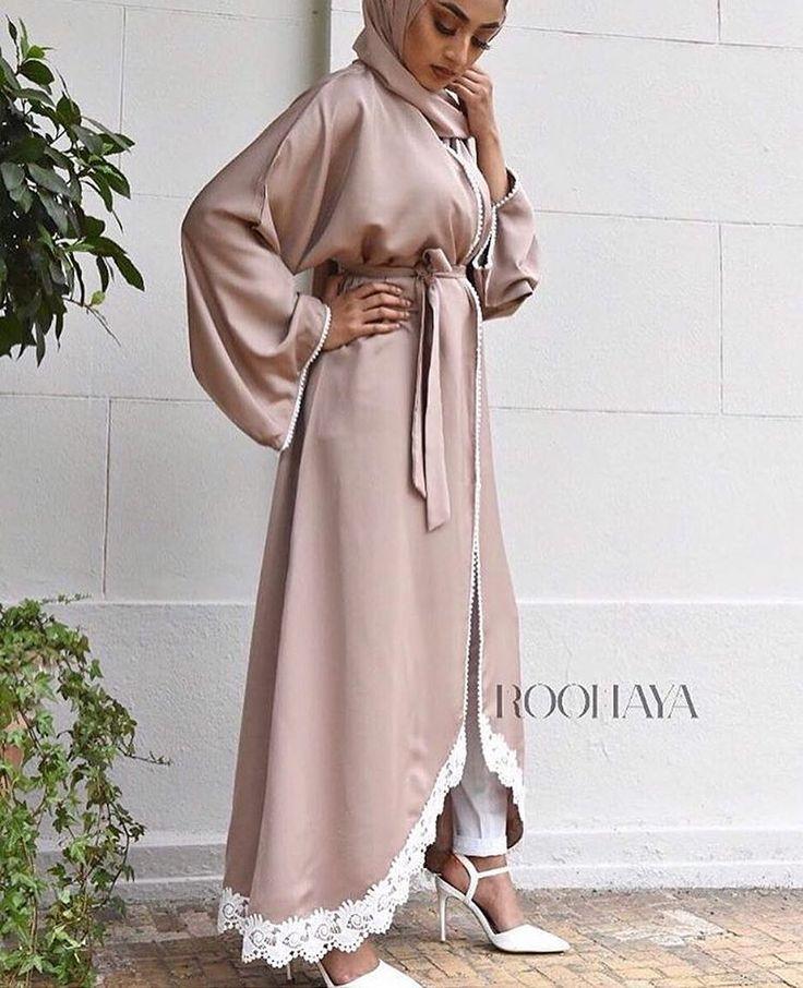 Another beauty is @ruhenaxbegum in our Rysah pearl abaya. This is also reduced for another 3 days only! 3 shades Grey   Blush pink   Nude x www.roohaya.com Info@roohaya.com   07946580700 FB: @roohayacollection eBay: Roohaya #roohayacollection #eastern_influence #instahijab #hijab #hijabs #scarf #scarves #jersey #abaya #jubba #maxihijab #hijabfashion #hijabi #muslimah #islamicfashion #hijabpin #abayafashion #jalabiya #kaftan #pashmina #chiffon #antiquegold #kaftan #farasha #arab…