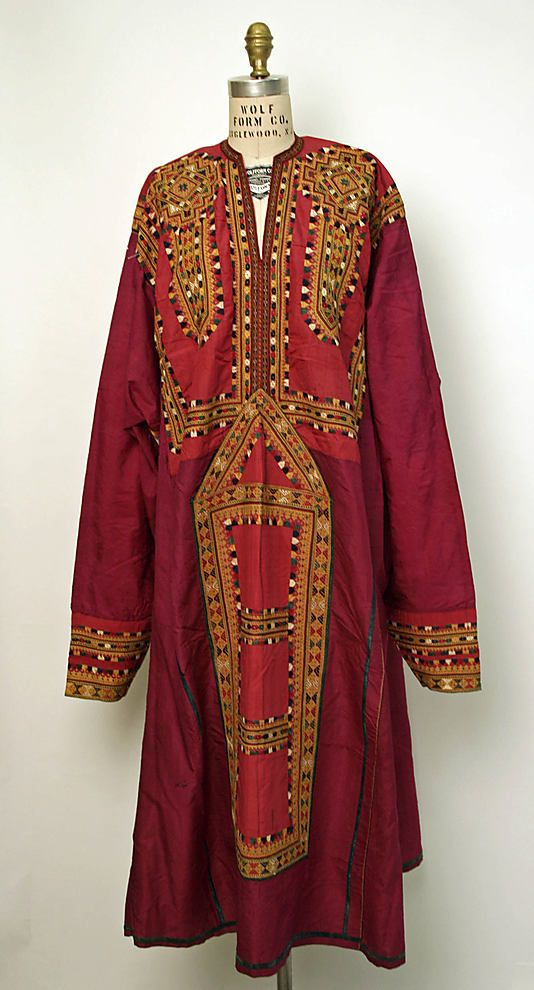 Silk Dress from the Middle East