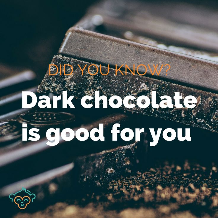An excuse to eat chocolate? You don't need to tell us twice! #chocolate #healthyeating #snacks #healthylifestyle #didyouknow #didyouknowfacts #LifeBuddi