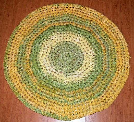 DIY Häkelteppich Crochet Rag Rug